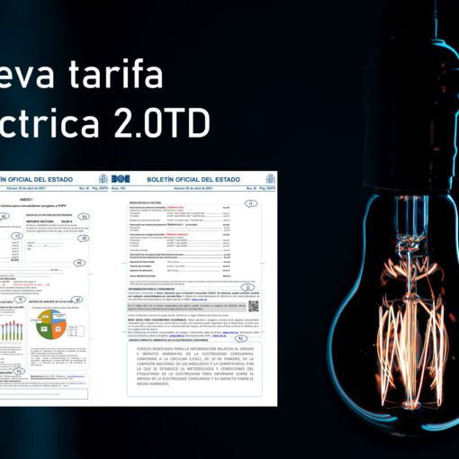 Composición nueva tarifa eléctrica uso doméstico 2.0TD